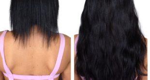 Как выглядит ленточное наращивание волос