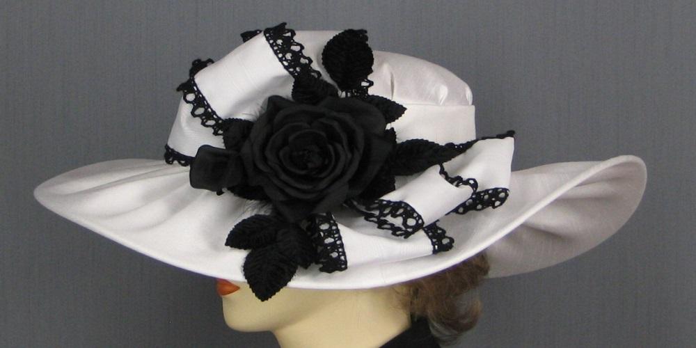шляпа с принтами